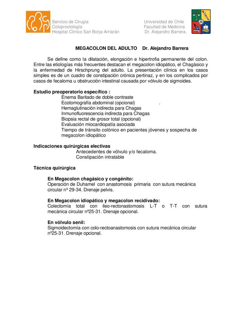 thumbnail of 12. Megacolon del adulto (Dr. Barrera)